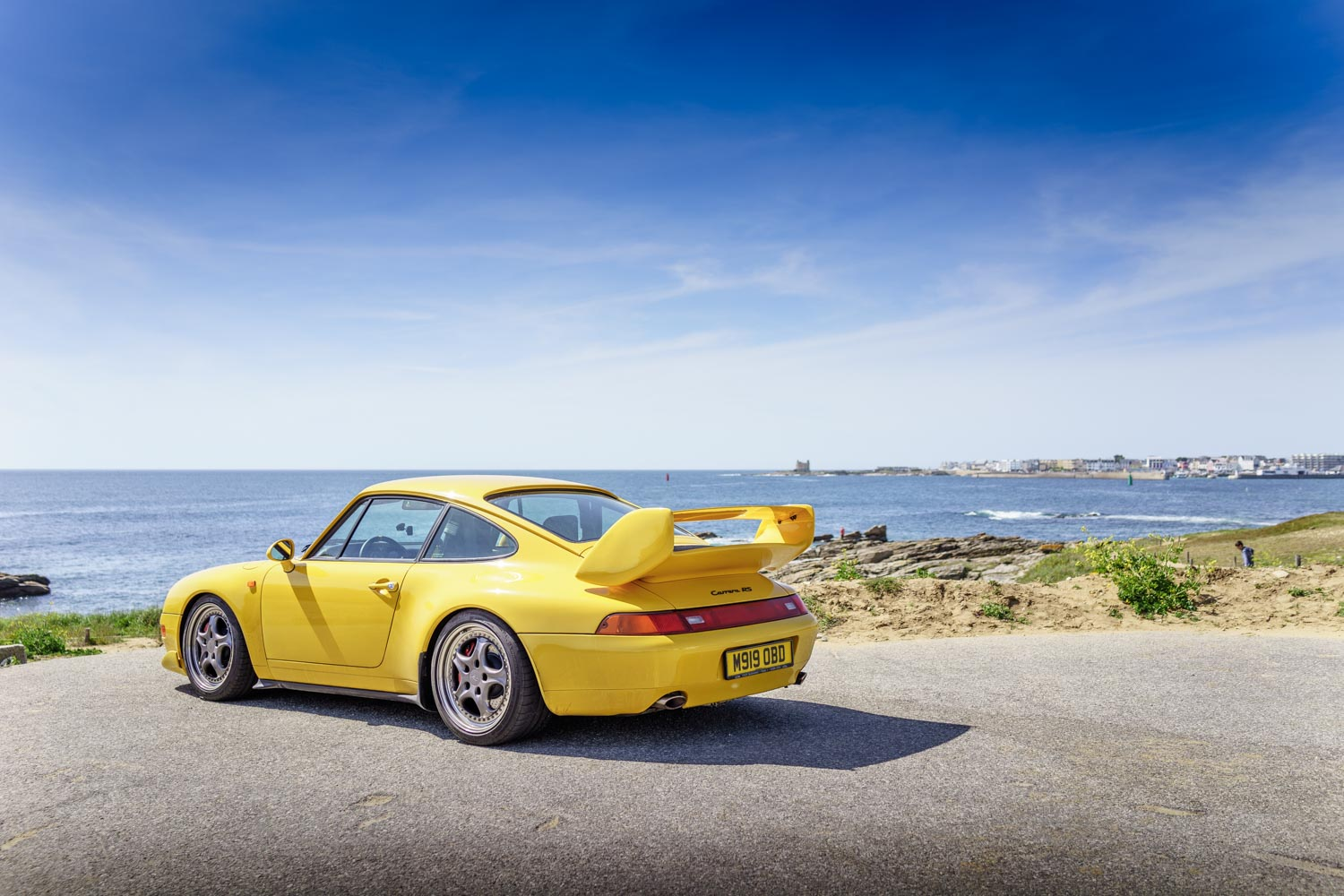Finding solace. Destination Brittany. Porsche 993RS.