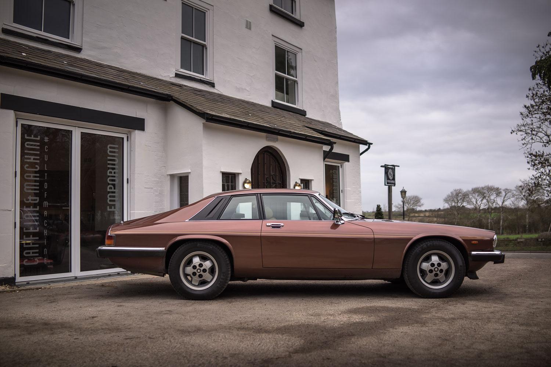 Jaguar XJS V12. For the love of Brown.